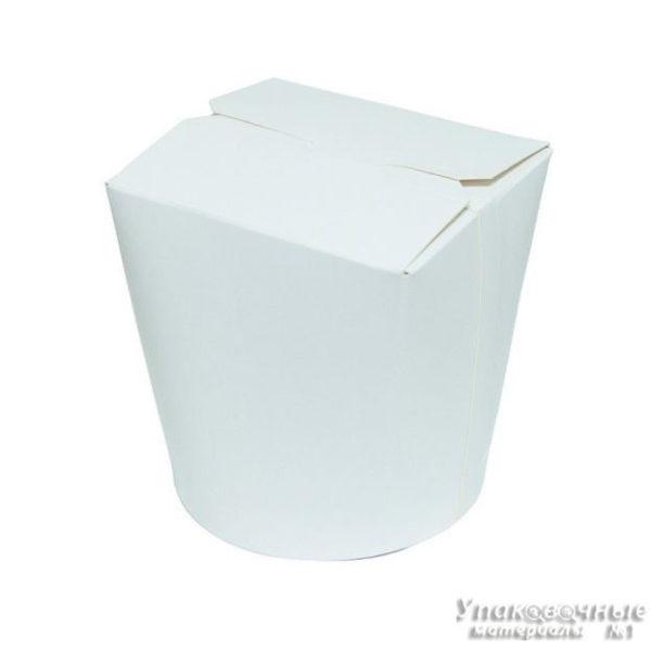 Контейнер бумажный чайна-бокс фото