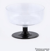 Креманка «Кристалл», со съемной ножкой, 180мл фото